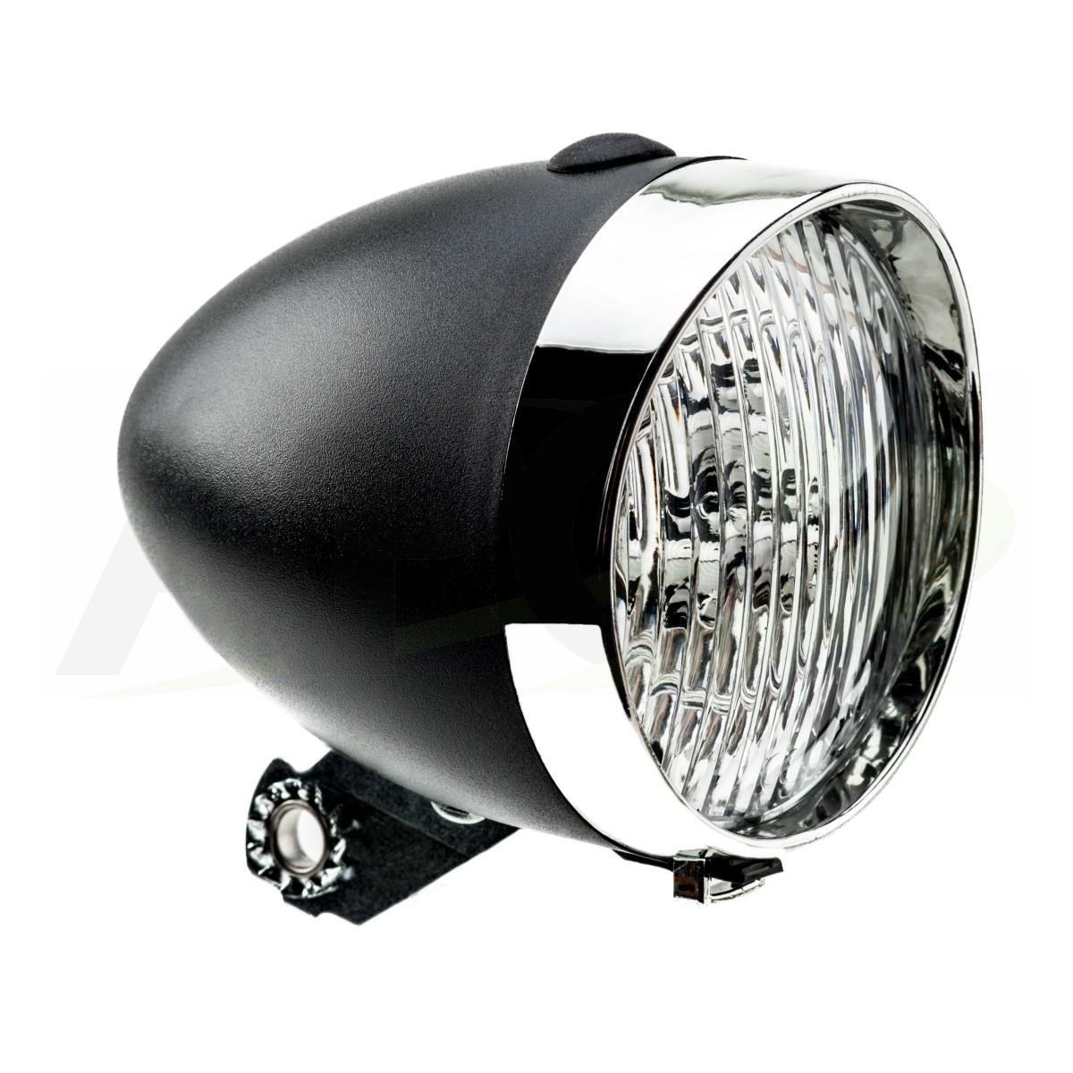 LAMPA BATERYJNA PRZÓD HW 160302 B czarna