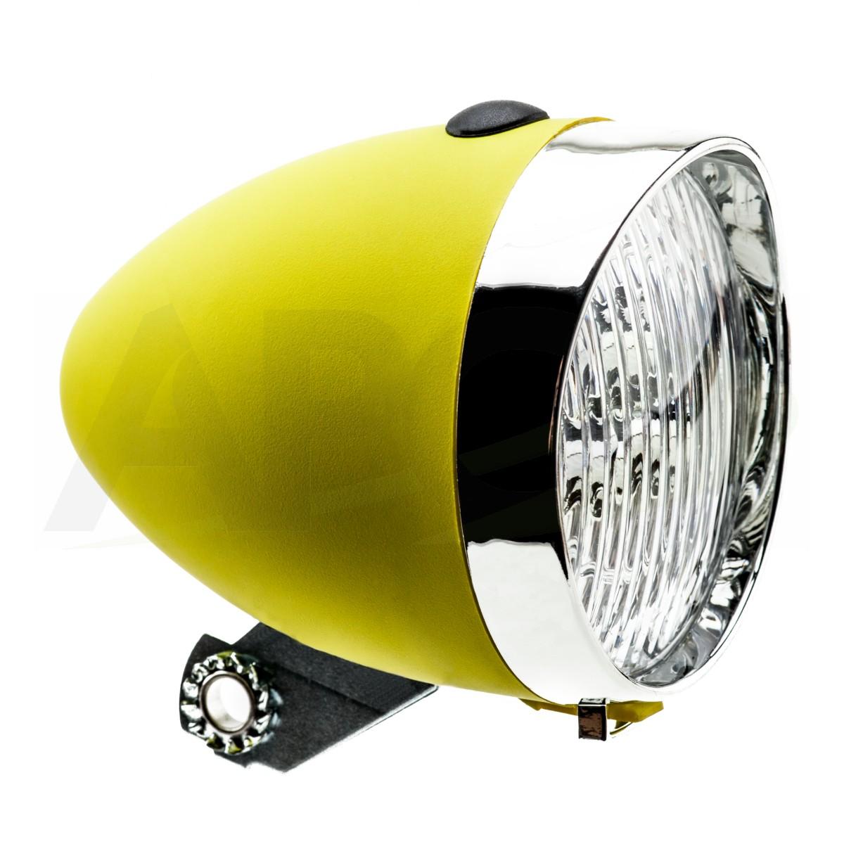 LAMPA BATERYJNA PRZÓD HW 160302 żółta