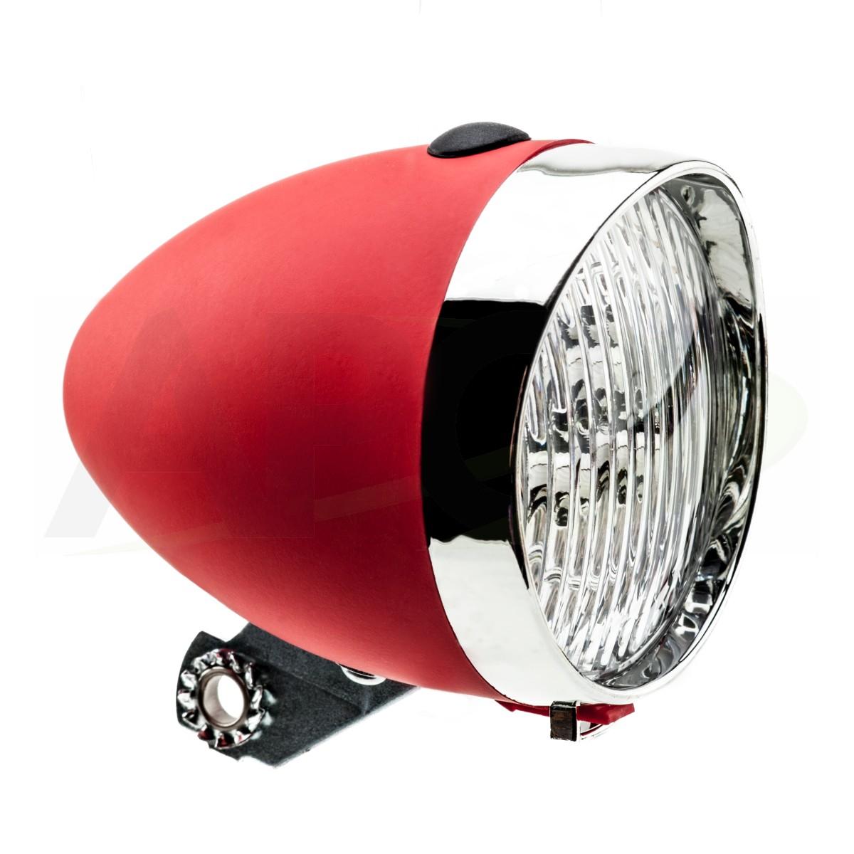 LAMPA BATERYJNA PRZÓD HW 160302 czerwona