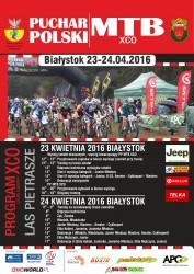 Plakat MTB - 2016